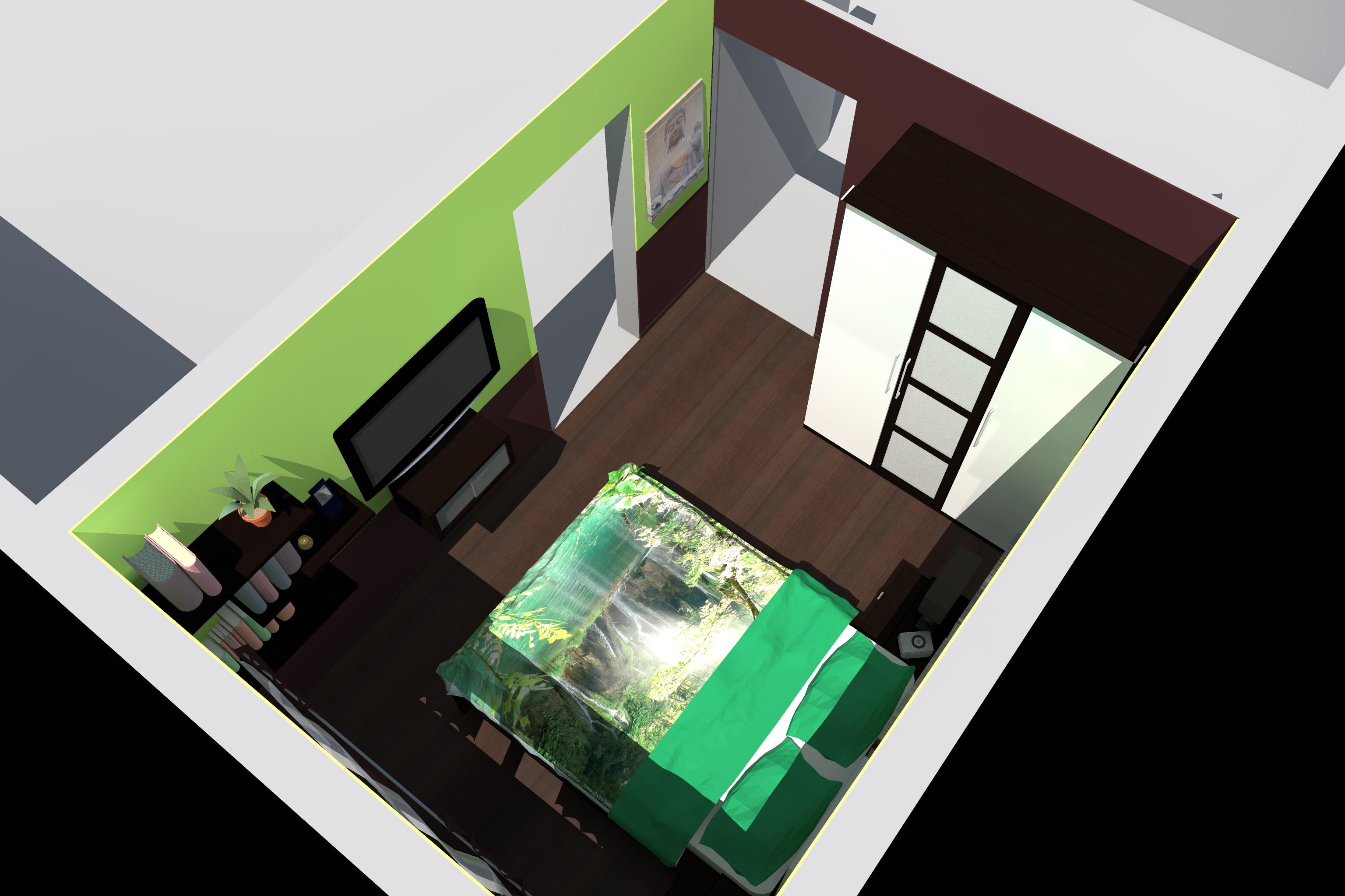 Paul architecture amenagement appartement reims 51 for Programme amenagement interieur